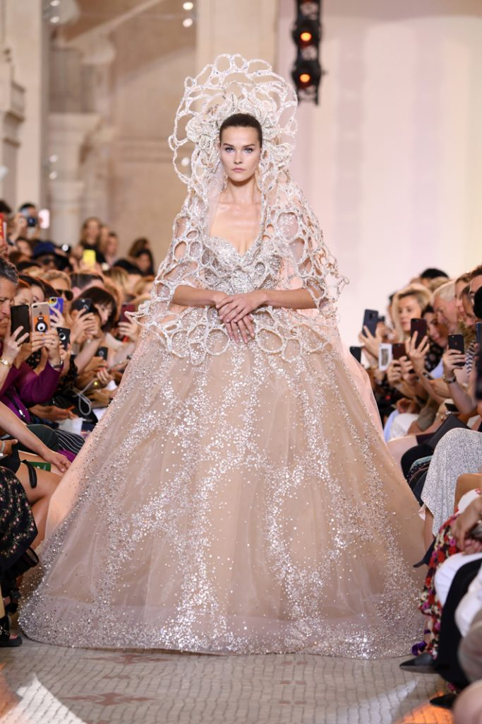couture wedding gown by elie saab haute couture fall winter 2018/2019 - iconic design