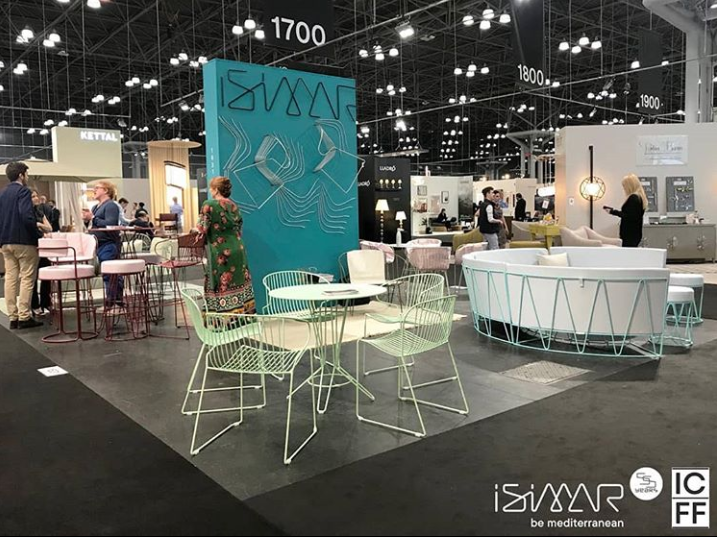 isimar outdoor furniture at icff 2019