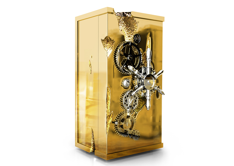 Limited Edition Millionaire Safe by Boca do Lobo - camp and kitsch furniture