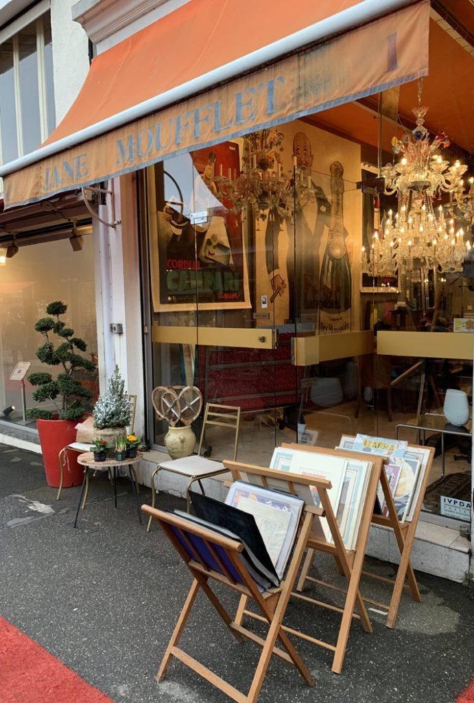 Jane Moufflet, Moufflet & Co. - Paris Fine Arts - saint ouen flea market