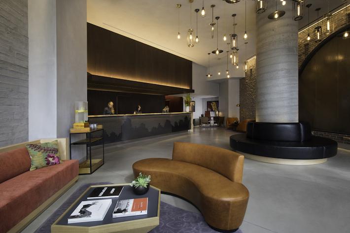 Lobby at Hotel 50 Bowery