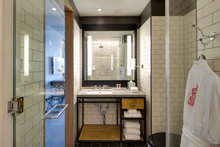 Bathroom at Hotel 50 Bowery
