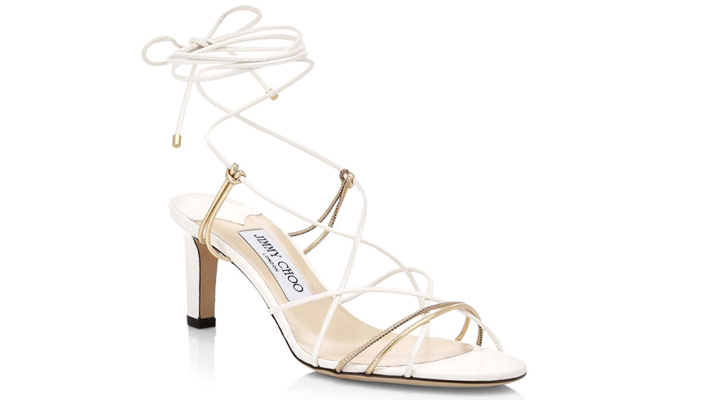 63dca9cad3 Tao Lace-Up Leather Sandals by Jimmy Choo - must have sexy summer sandals
