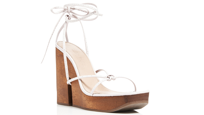 2b1b246cfb Pilotis Wooden Wedge Leather Sandals by Jacquemus - Must Have Sexy Summer  Sandals