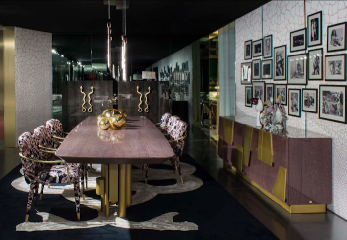 dining room design by roberto cavalli home 2019 salone del mobile milano