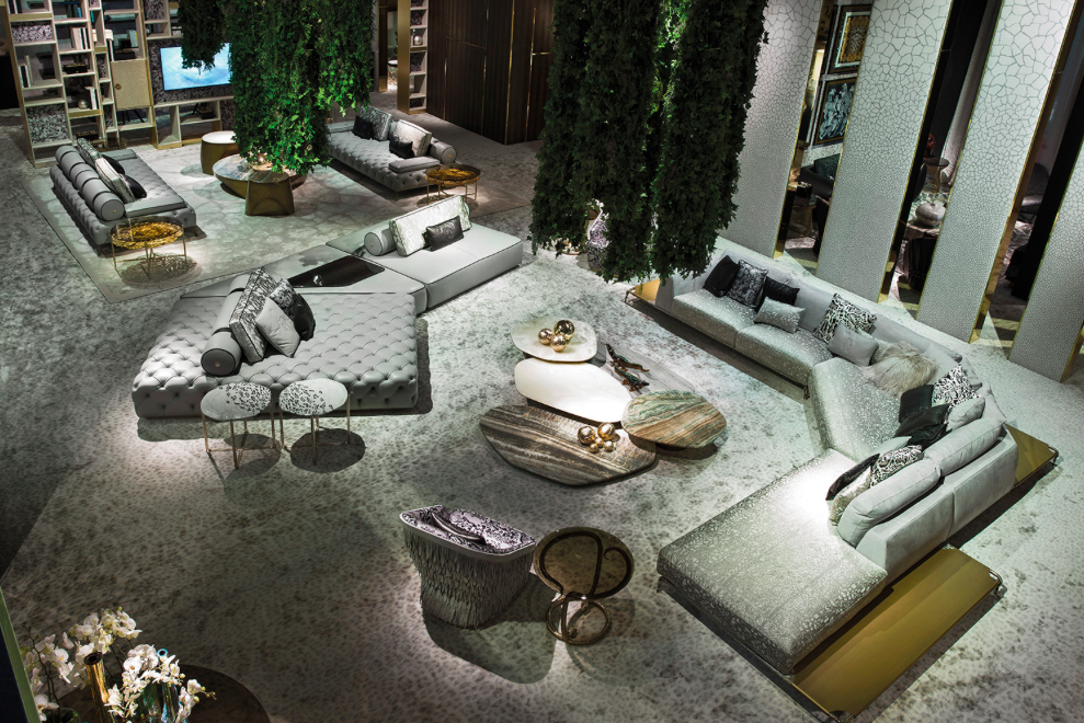 The Elegant Sensuality of the New Roberto Cavalli Home Collection