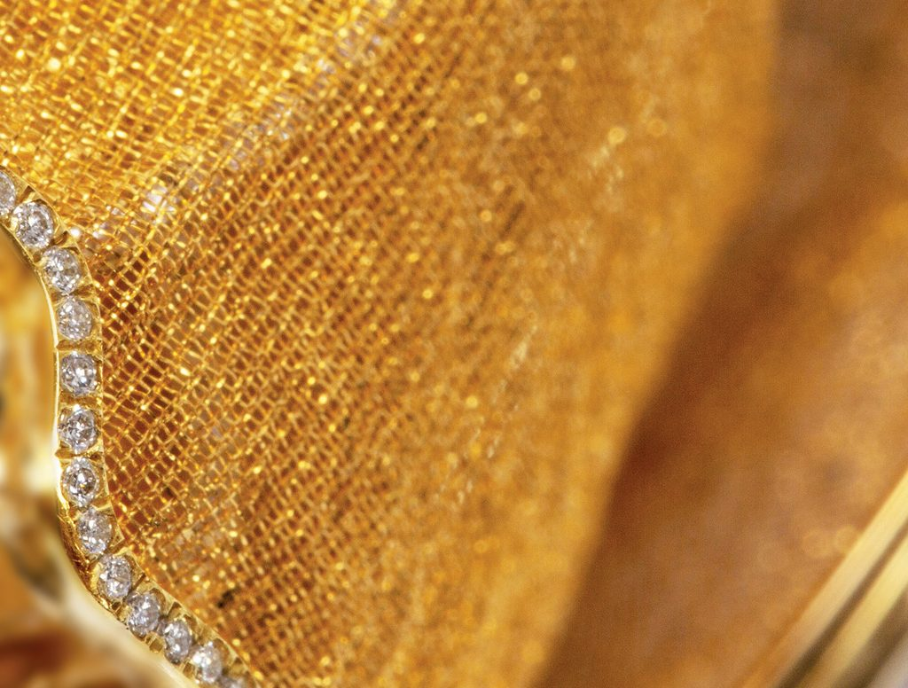 The Gold Silk by Boghossian 2019 at Bohossian at Design Miami Basel 2019