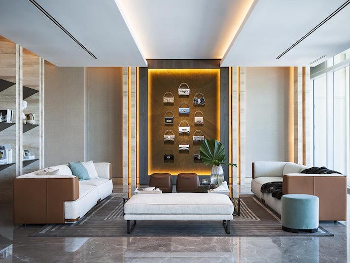 Fendi Casa Luxury Living Room Furniture