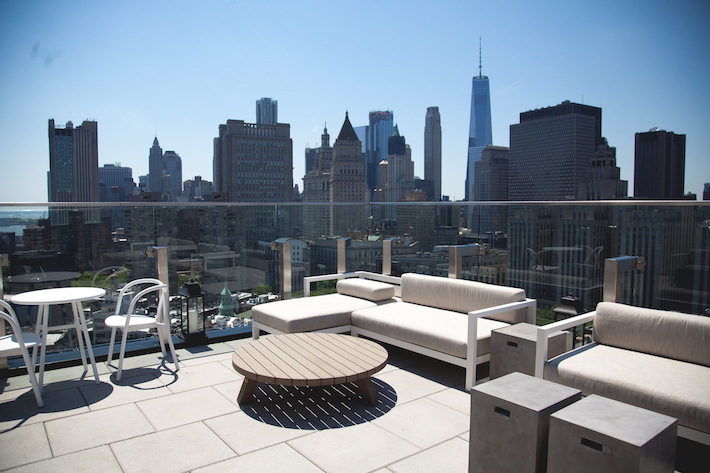 hotel 50 bowery terrace rooftop
