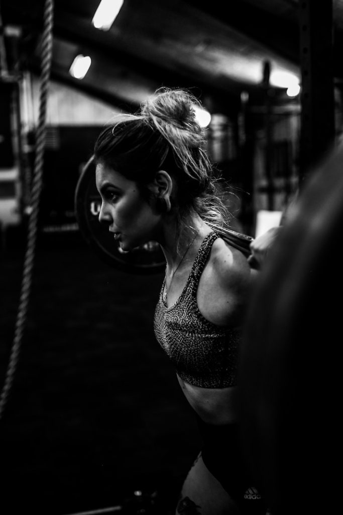 woman working out - how to look and feel like a million dollars