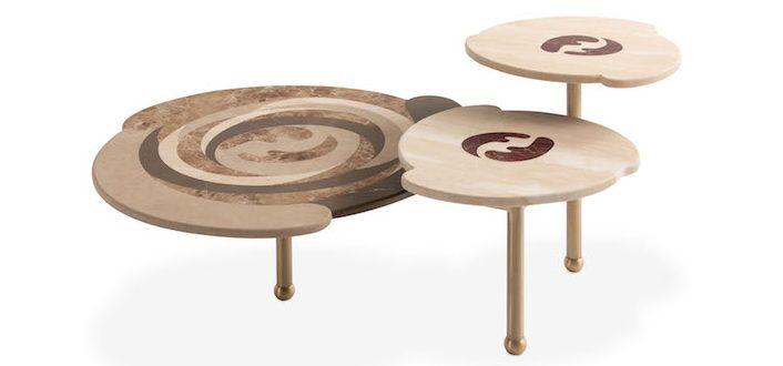 FENDI Casa Back Home Effe Coffee Table Design by Cristina Celestino