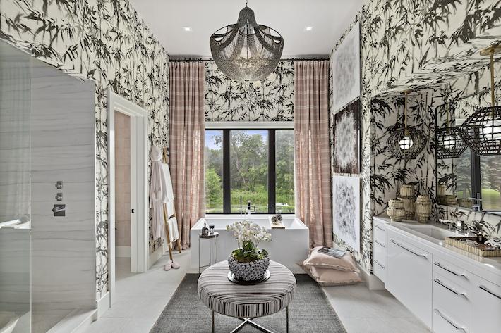 Thermon Designs- Master Bath Holiday House Hamptons