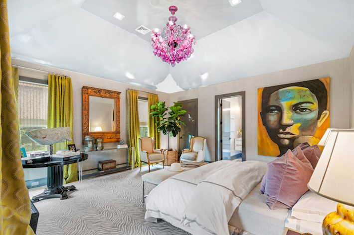 Amy Hill Designs- Bedroom Holiday House Hamptons