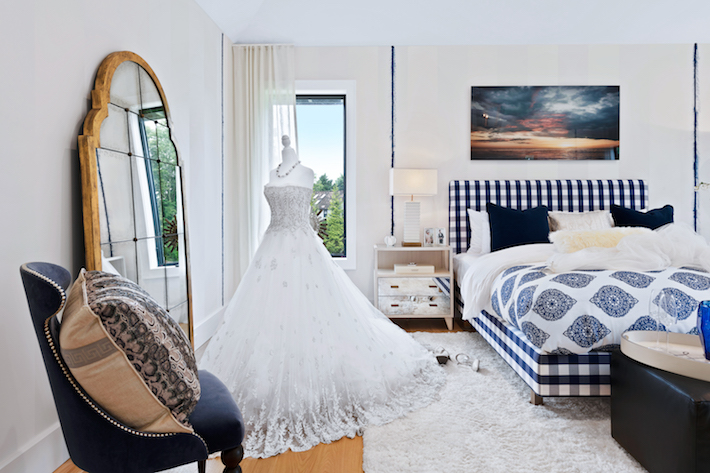 Bjorn Bjornsson Interior Design x Hastens- Bedroom 3 Holiday House Hamptons