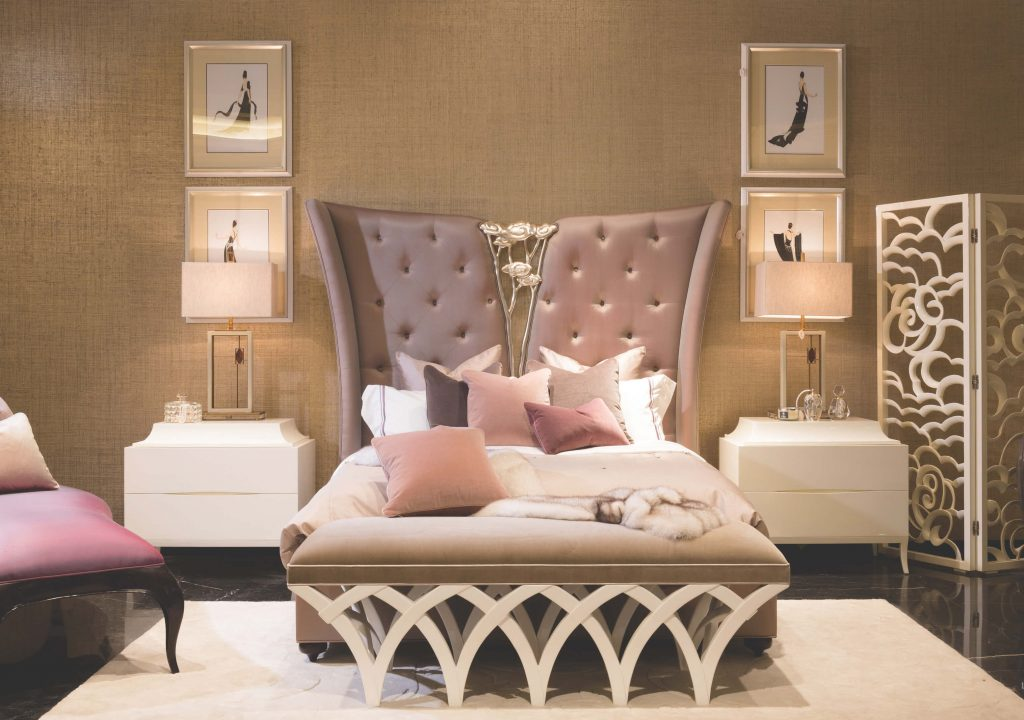 Mademoiselle Headboard by Christopher Guy - statement furniture