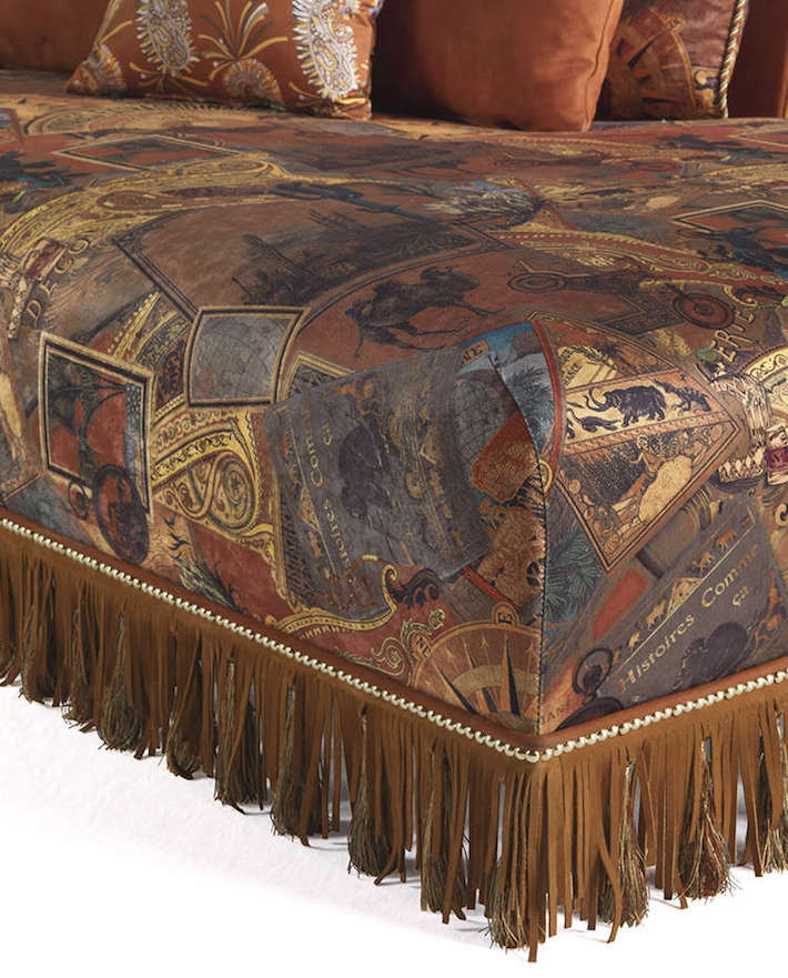 """Close up detail shot of """"Mauritania"""" by Etro Home"""