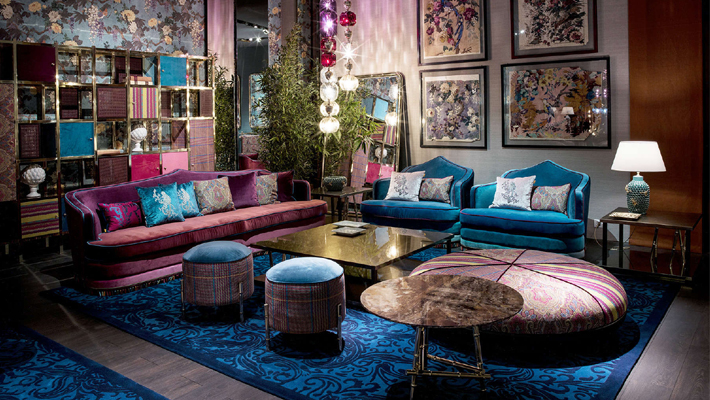Etro Home Salone del Mobile 2019