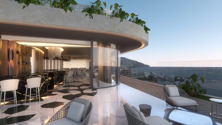 Rooftop Bar at Hotel Savory Palace