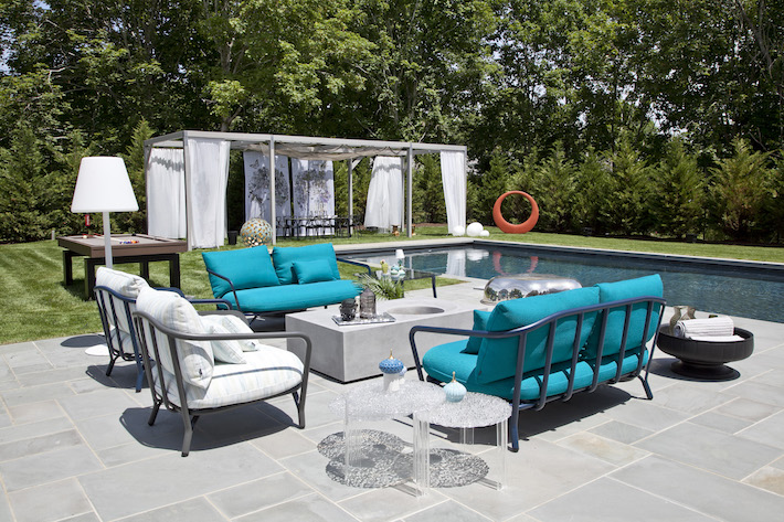 Paris K Interior Design- Outdoor Space Holiday House Hamptons
