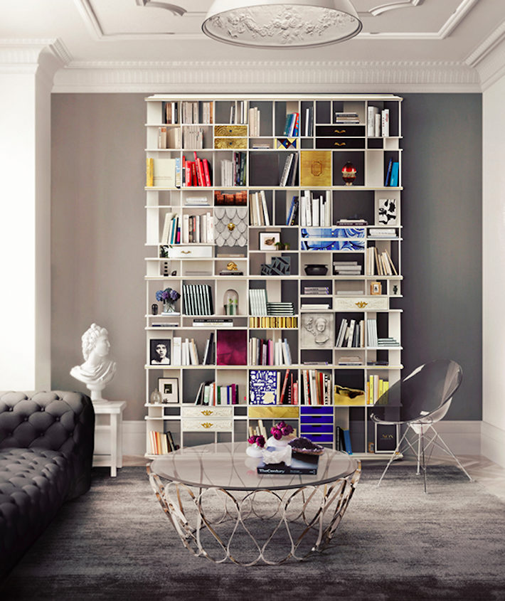 Statement Furniture Wall Shelving by Boca do Lobo