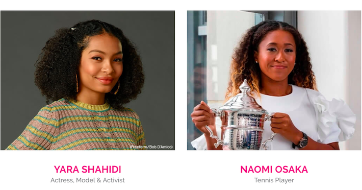 Yara Shahidi and Naomi Osaka, Barbie Role Models