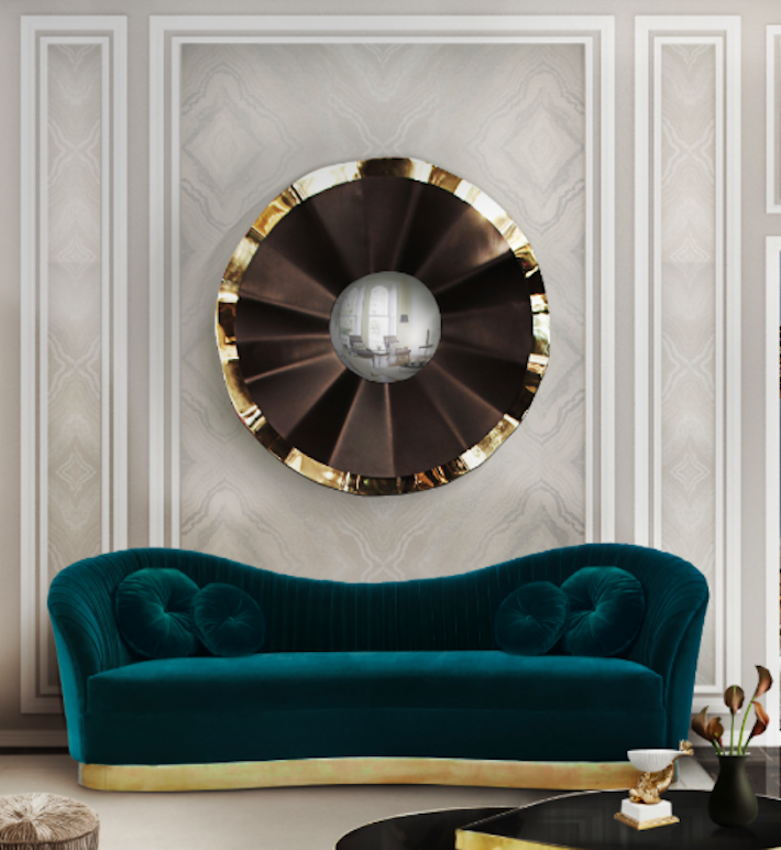 Kelly sofa by KOKET Statement Furniture - statement couches
