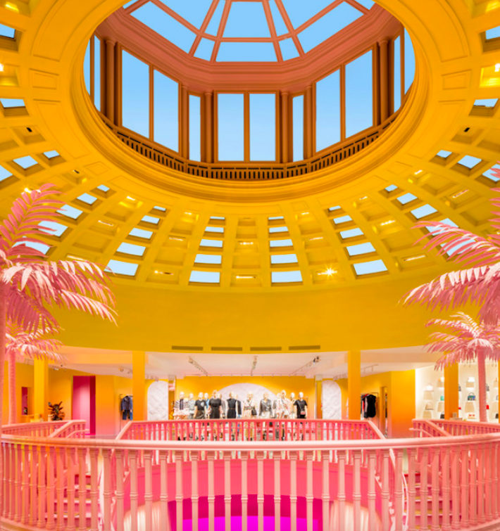 Louis Vuitton X Entrance