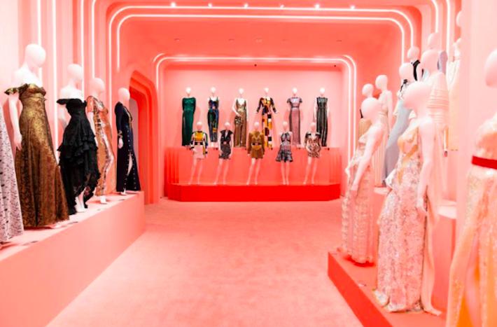 Louis Vuitton X fashion room