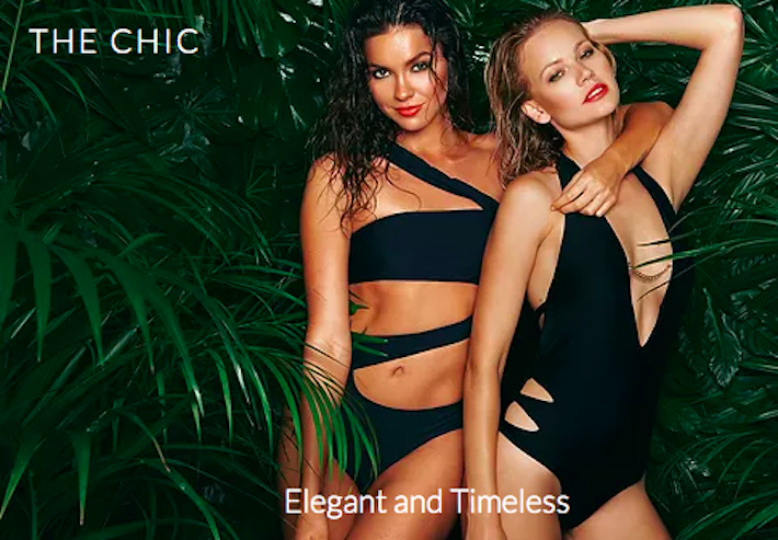 The Chic Collection by Afina London luxury swimwear