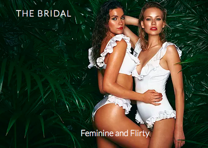 The Bridal Collection by Afina London - luxury bridal swimwear