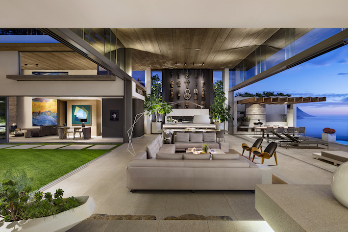 Beyond Living Area by SAOTA architects