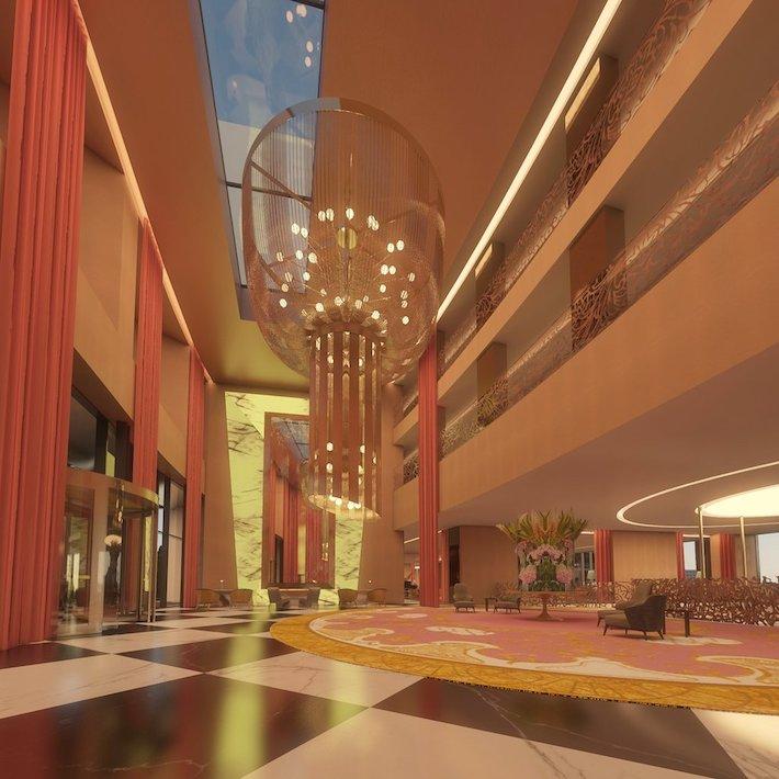 Lobby at Hotel Savory Palace