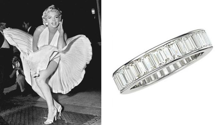 marylin monroe engagement ring
