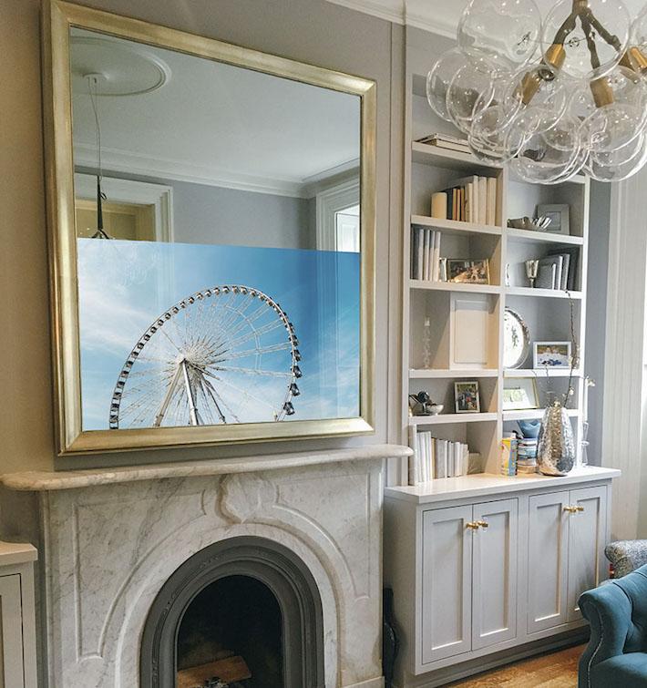 Mirror TV for a High Fashion Home