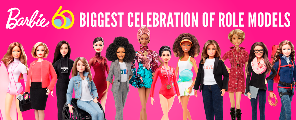 Meet the Barbie Role Models: Barbie's 60th Anniversary Line