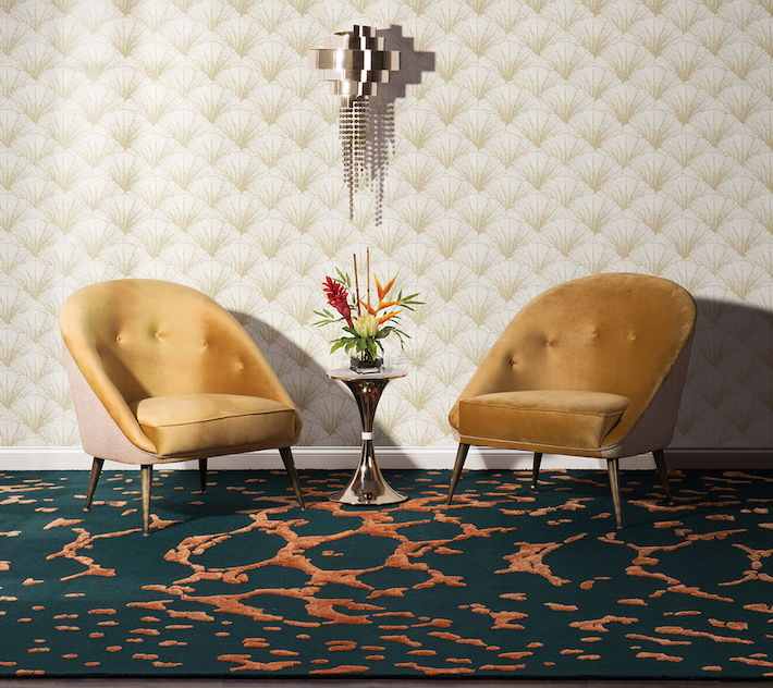 Meta Rug by Rug Society for a High Fashion Home