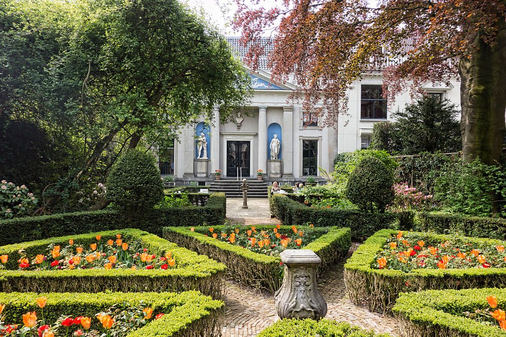 Jardins du Museum Van Loon, Amsterdam private house museums  europe