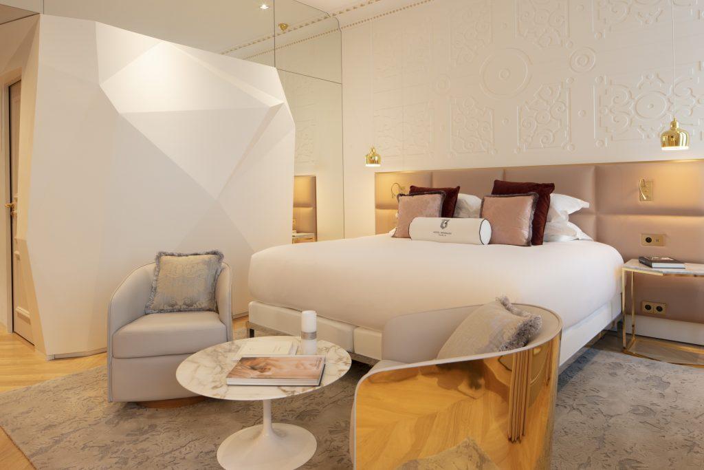suite at Hotel Bowmann Paris by Laurent Maugoust