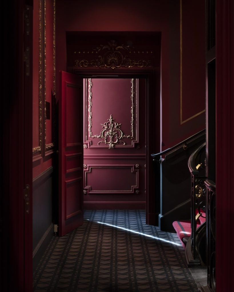 millwork at Hotel Bowmann Paris by Laurent Maugoust
