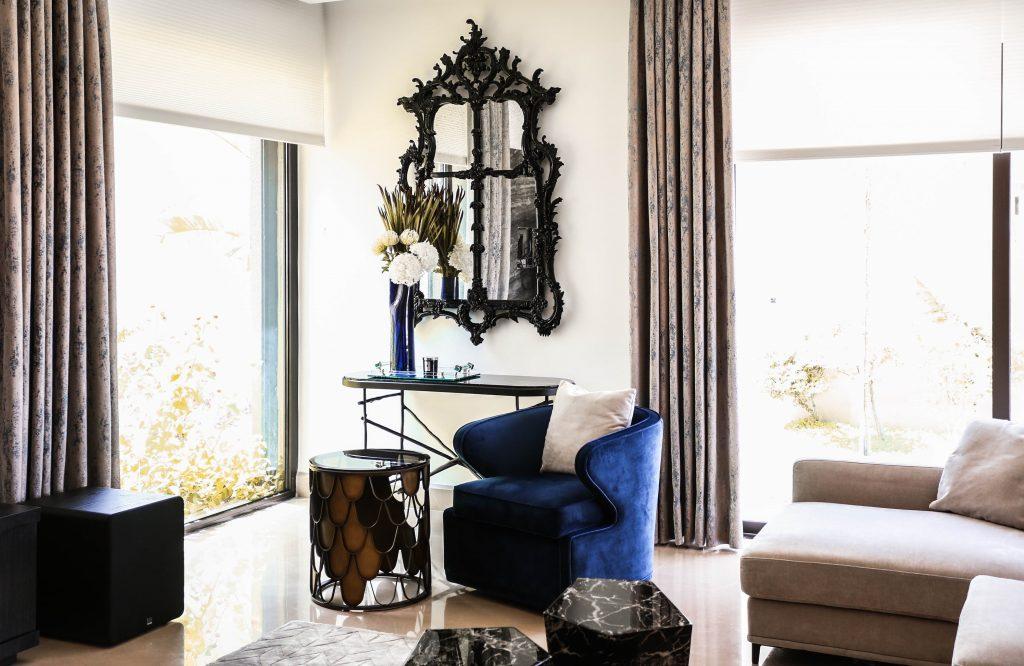 sitting room in amman based interior design project by maysoon haymoor