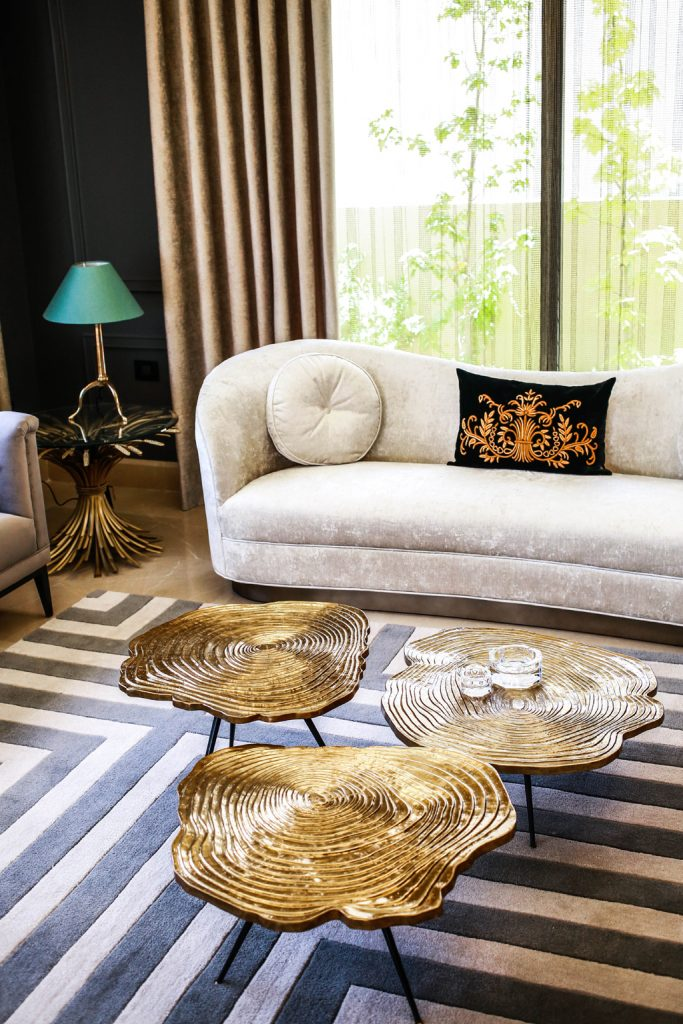 luxury sitting room in amman based interior design project by maysoon haymoor