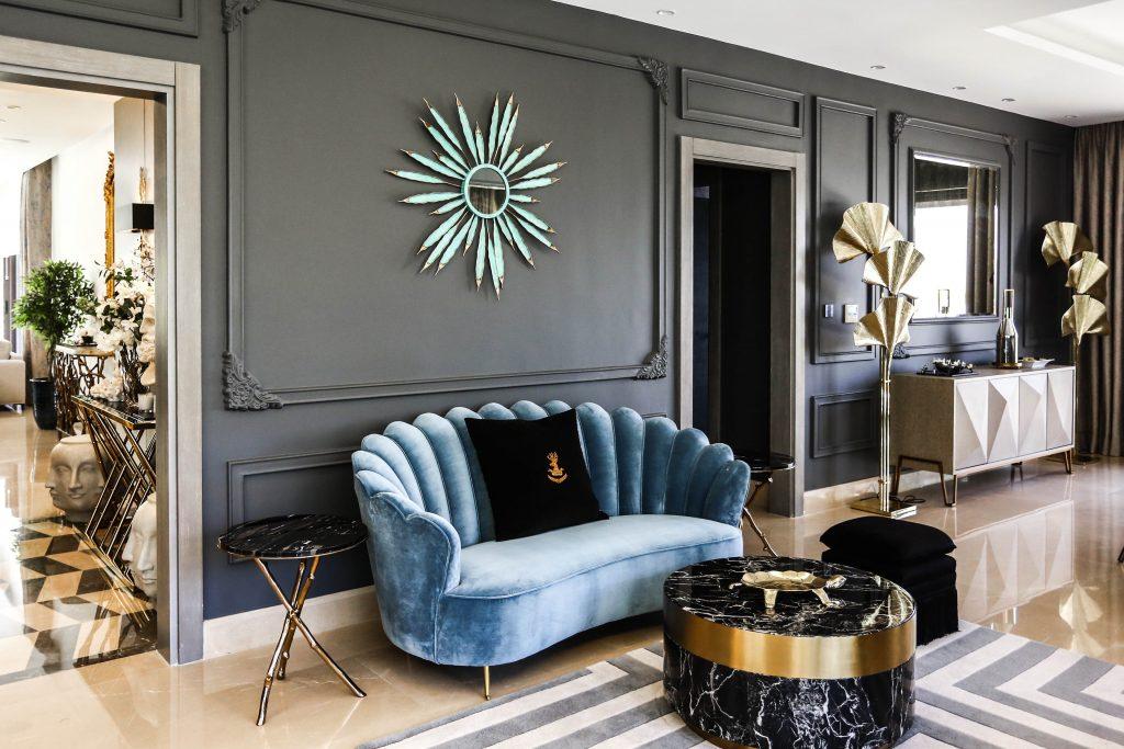 luxury living room in amman based interior design project by maysoon haymoor