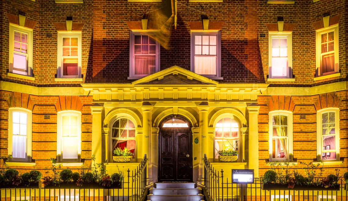 Love Happens at No. Ten Manchester Street Hotel