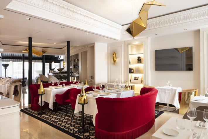 restaurant at Hotel Bowmann Paris by Laurent Maugoust