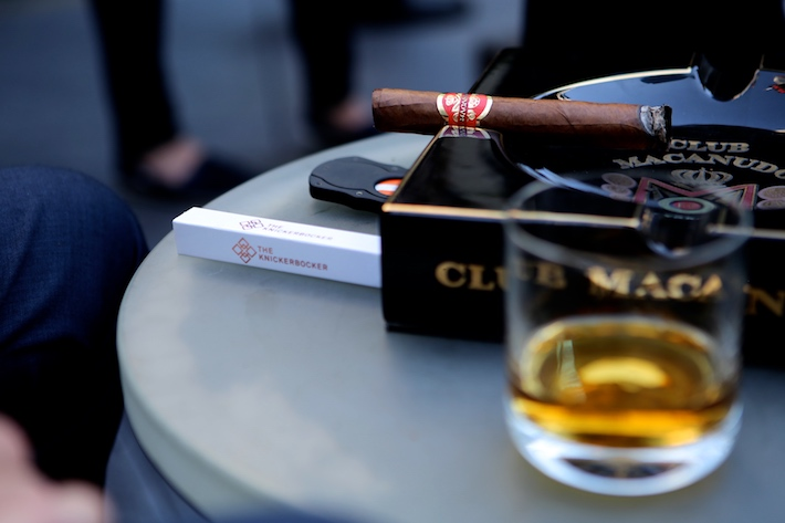 Club Macanudo cigar lounge the knickerbocker hotel st. cloud