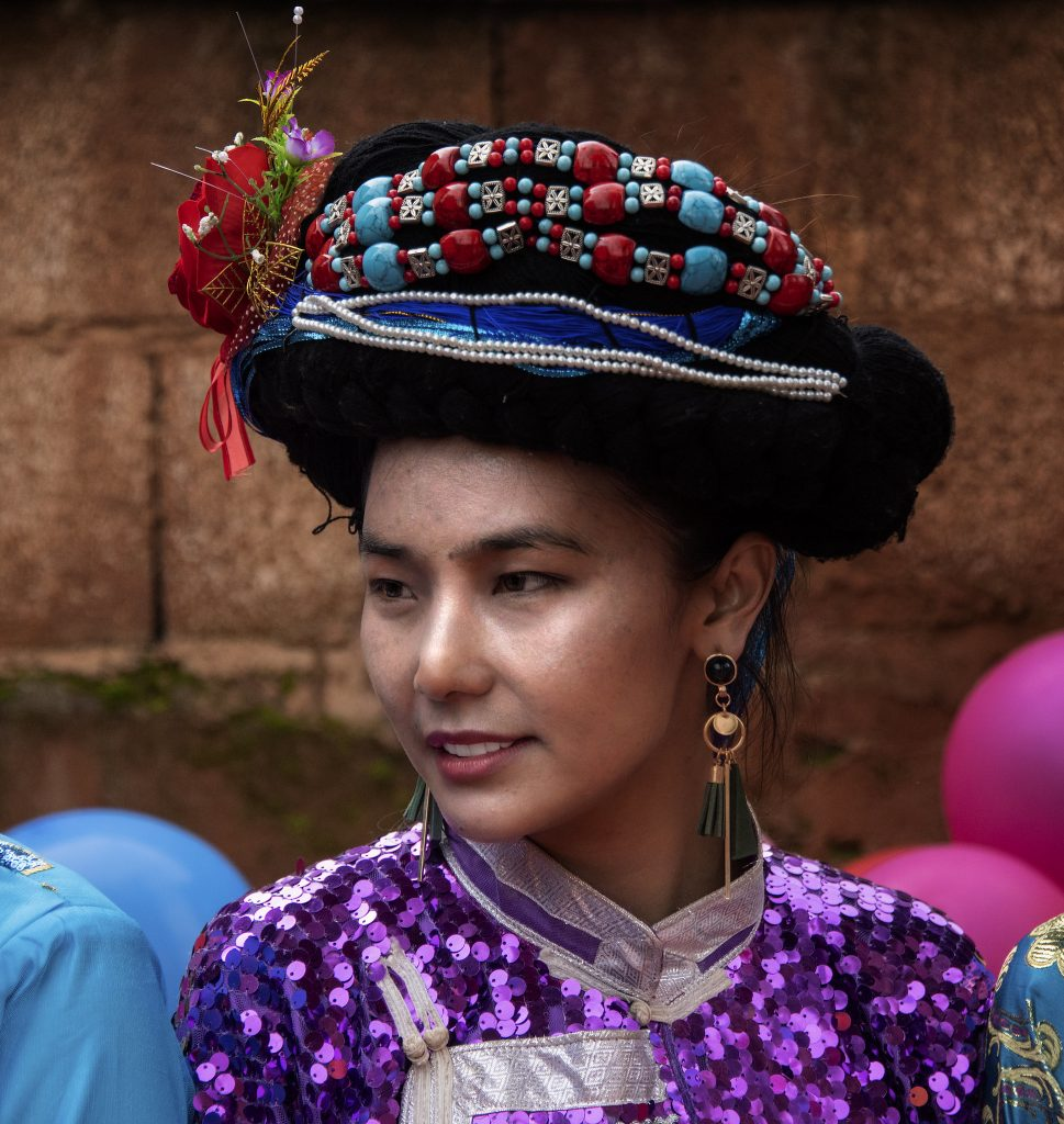 a young mosuo woman