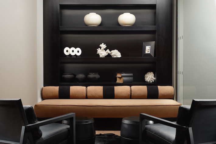Lobby setup at the Nadler Victoria Hotel