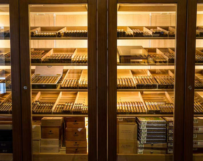 Cigar Terrace cigar humidor
