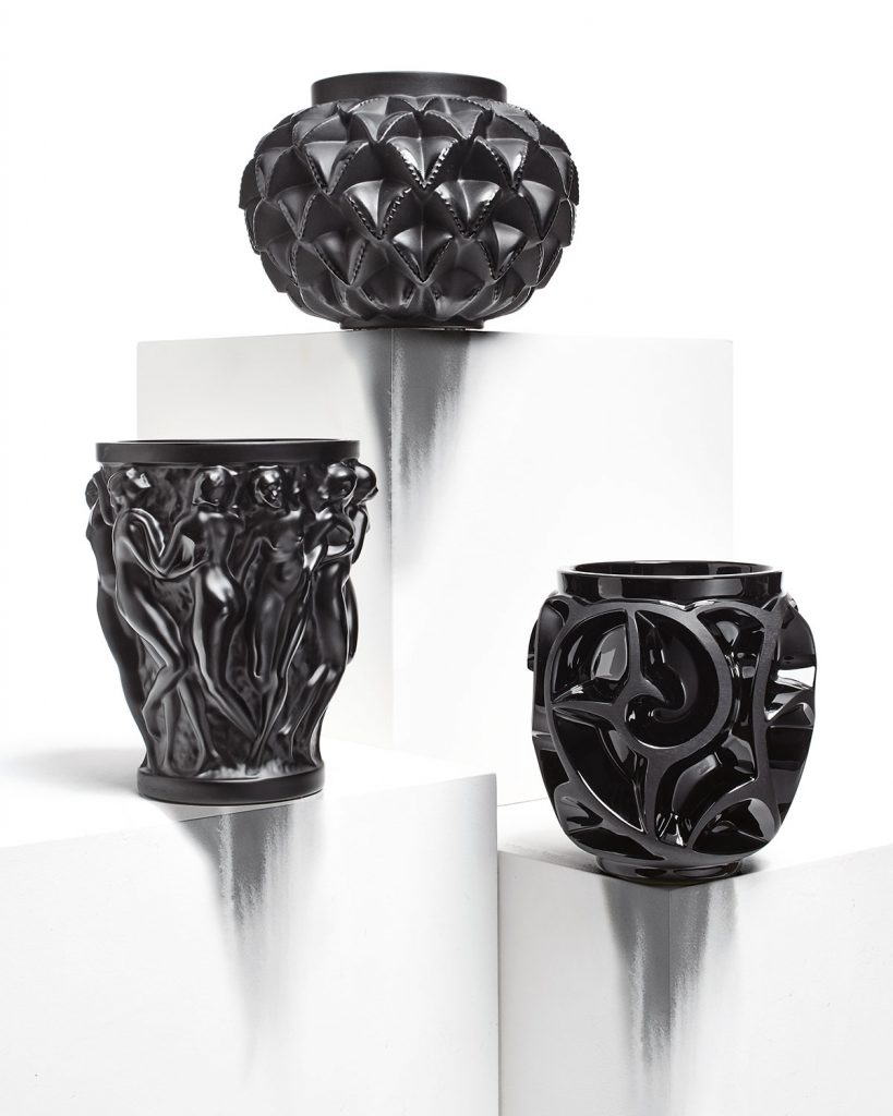 black crystal lalique vases - luxurious gifts for every occasion