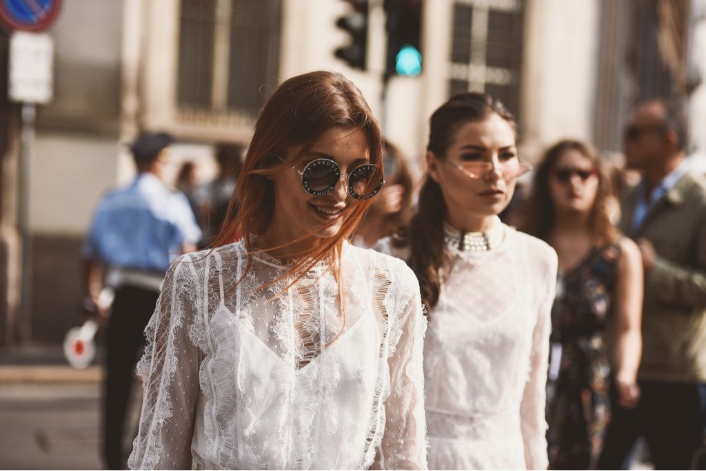 Street style outfit during Milan Fashion Week - MFWSS19 - upcoming fashion shows fall 2019